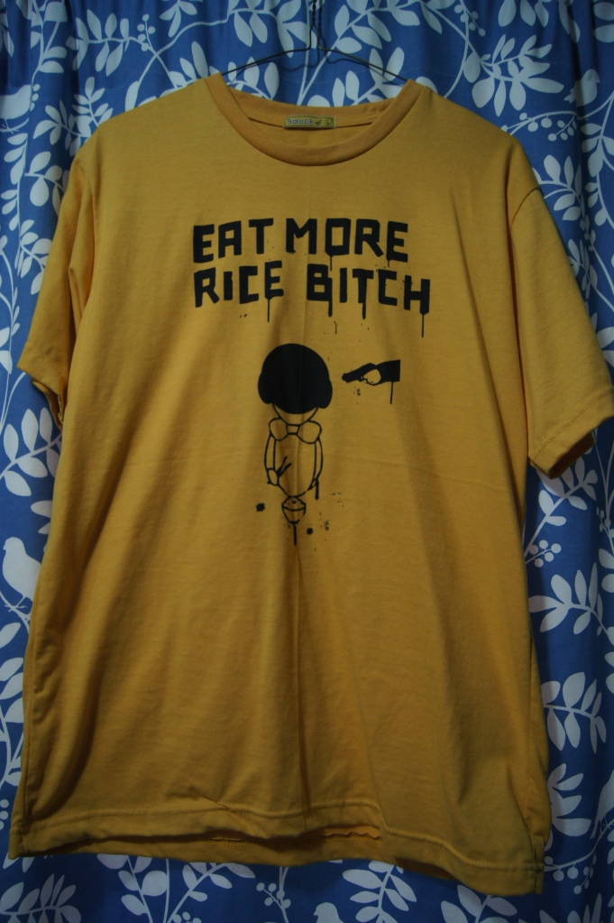 T-Shirt Series #3: Eat More Rice, Barf Eater