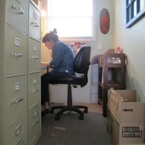 Welderbeth Gets anOffice
